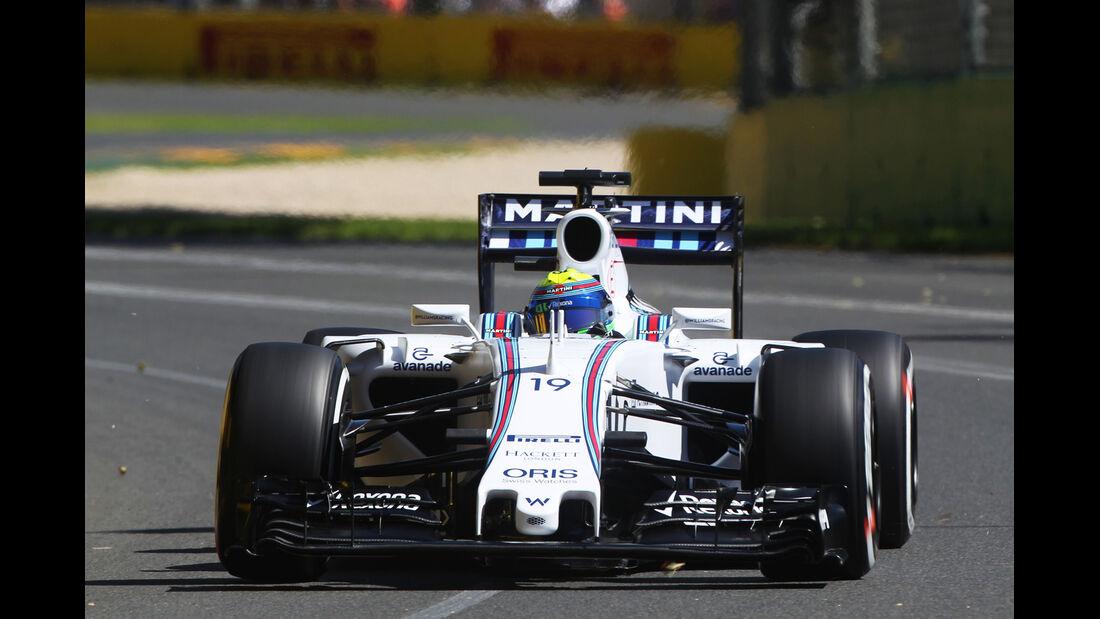 Felipe Massa - Williams - Formel 1 - GP Australien - 13. März 2015