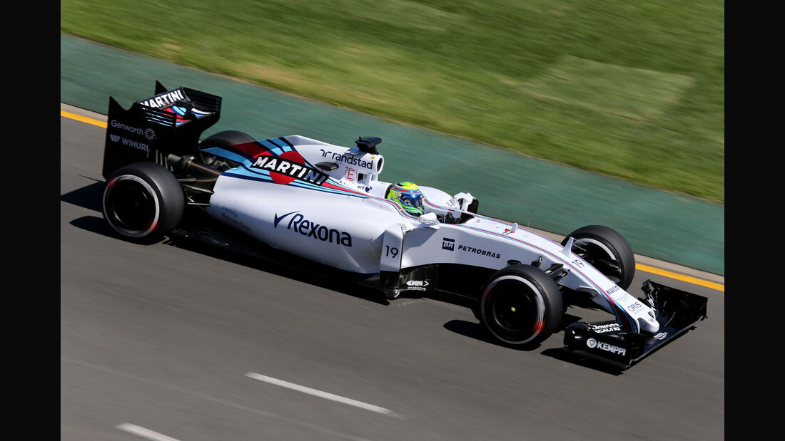 Felipe Massa - Williams - Formel 1 - GP Australien - 13. März 2015