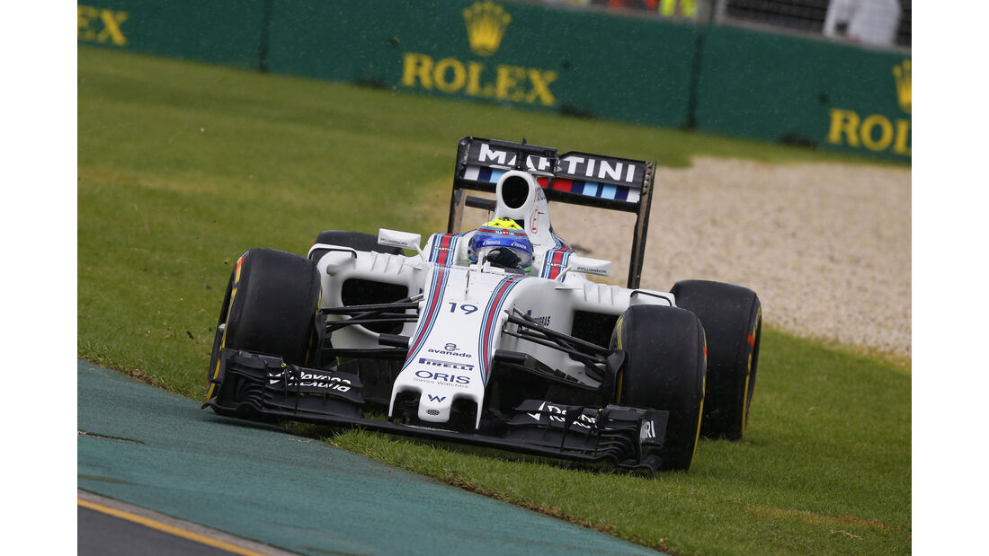 Felipe Massa - Williams - Formel 1 - GP Australien - Melbourne - 18. März 2016
