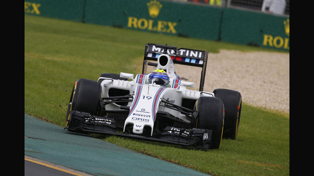Felipe Massa - Williams - Formel 1 - GP Australien - Melbourne - 18. März 2016