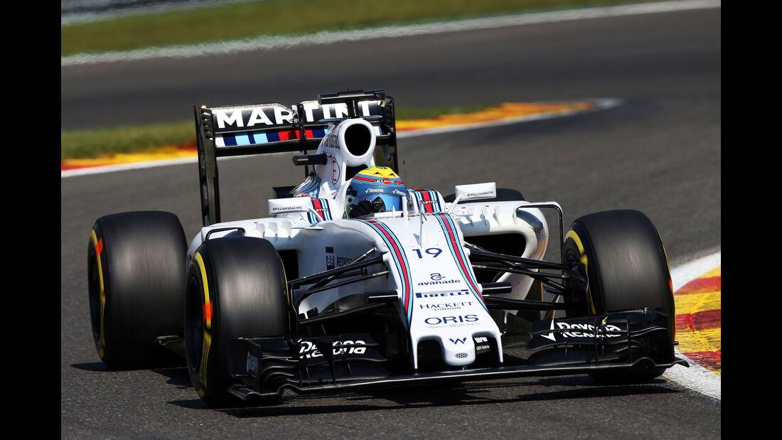 Felipe Massa - Williams - Formel 1 - GP Belgien - Spa-Francorchamps - 22. August 2015
