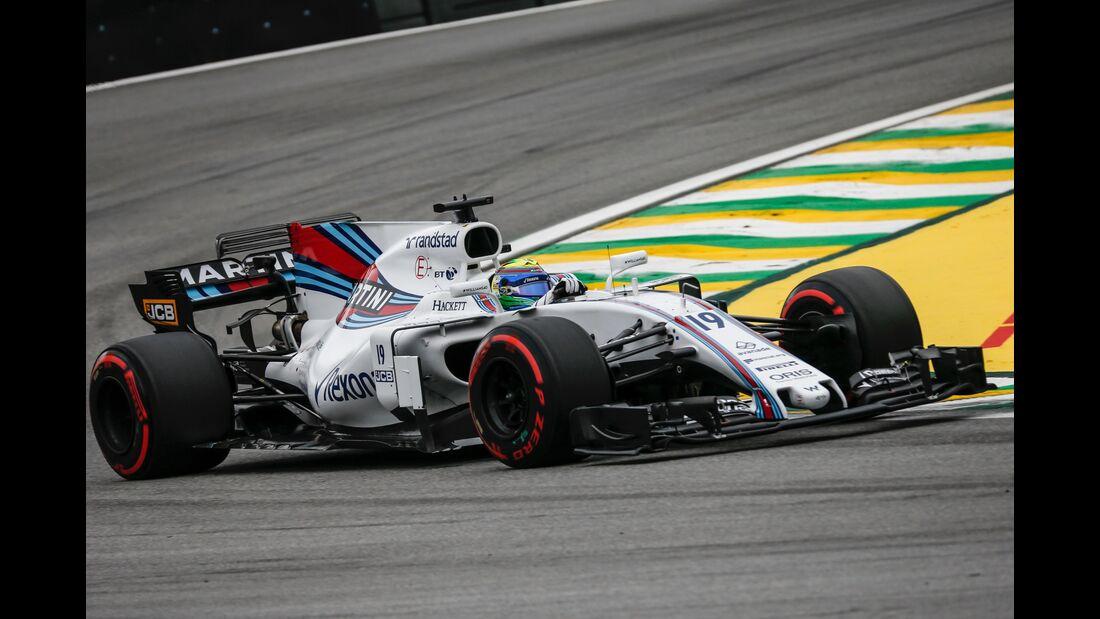 Felipe Massa - Williams - Formel 1 - GP Brasilien - 11. November 2017