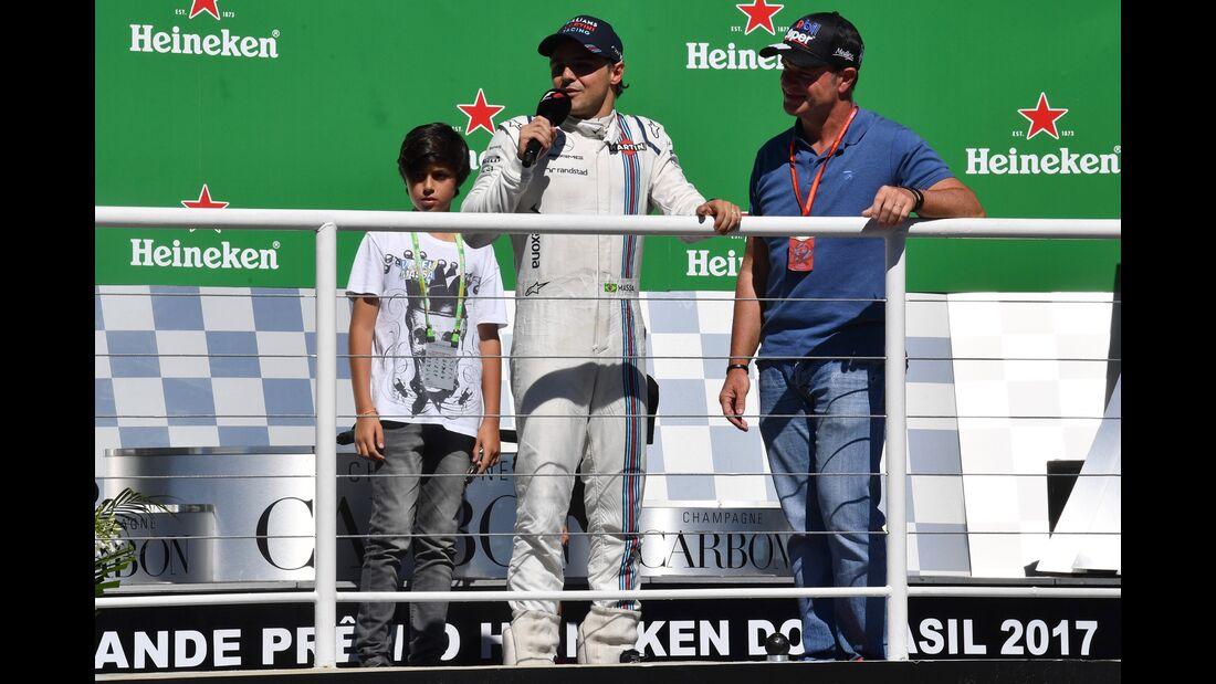 Felipe Massa - Williams - Formel 1 - GP Brasilien - 12. November 2017