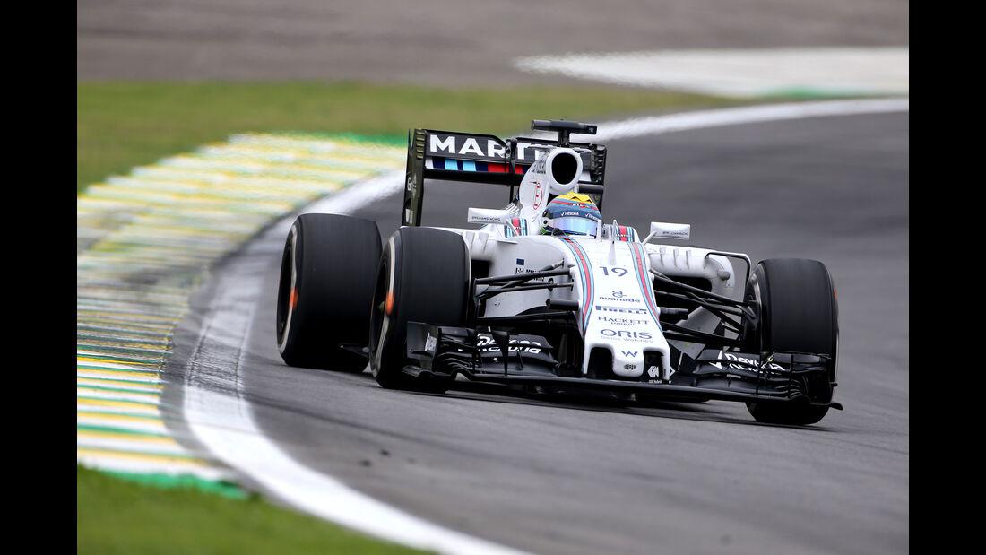 Felipe Massa - Williams - Formel 1 - GP Brasilien- 13. November 2015