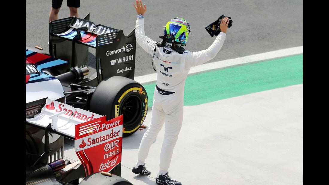 Felipe Massa - Williams - Formel 1 - GP Brasilien- 14. November 2015