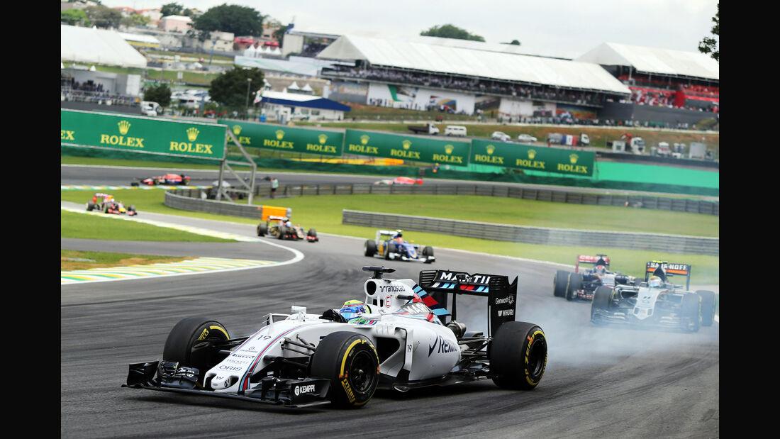 Felipe Massa - Williams  - Formel 1 - GP Brasilien- 15. November 2015