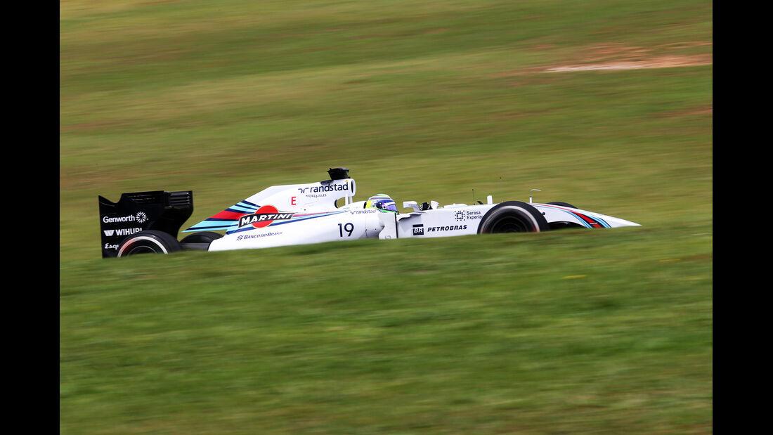 Felipe Massa - Williams - Formel 1 - GP Brasilien - Sao Paulo - 7. November 2014