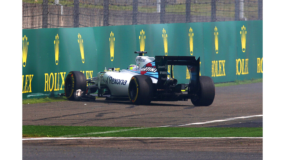 Felipe Massa - Williams - Formel 1 - GP China - Shanghai - 10. April 2015