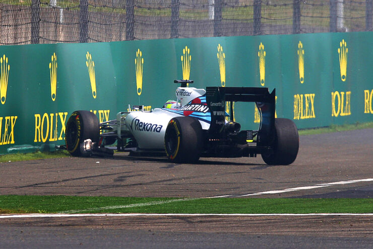 Felipe Massa - Williams - Formel 1 - GP China - Shanghai - 10. April 2015