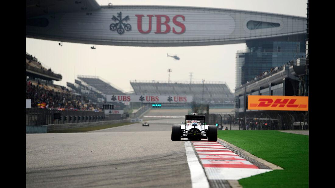 Felipe Massa - Williams - Formel 1 - GP China - Shanghai - 18. April 2014