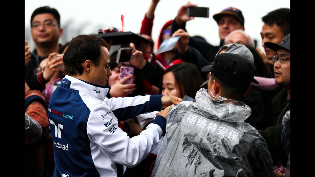 Felipe Massa - Williams - Formel 1 - GP China - Shanghai - 6.4.2017