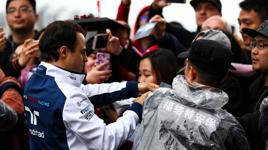 Felipe Massa - Williams - Formel 1 - GP China - Shanghai - 6.4.2017