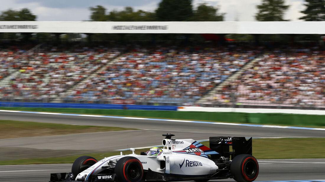 Felipe Massa - Williams  - Formel 1 - GP Deutschland - 30. Juli 2016