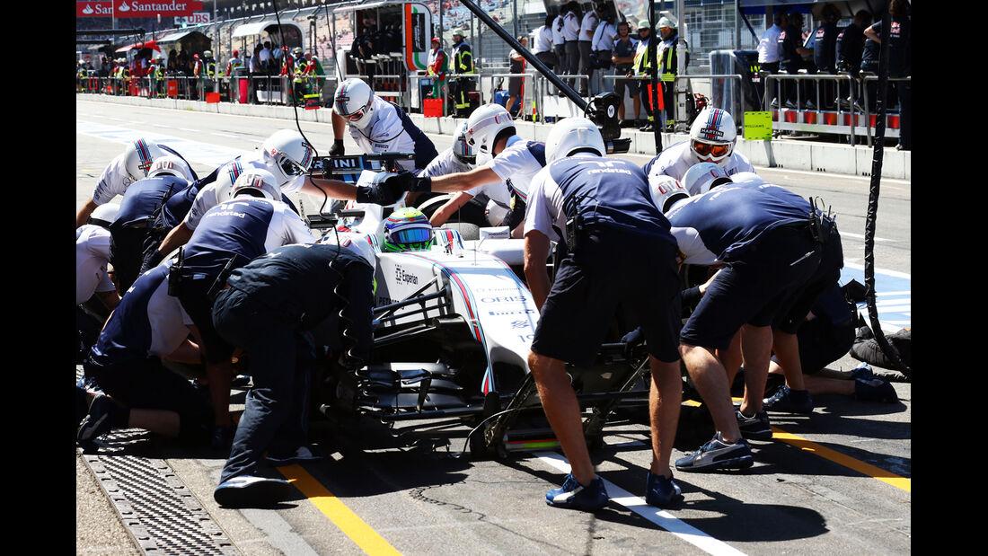 Felipe Massa - Williams - Formel 1 - GP Deutschland - Hockenheim - 18. Juli 2014