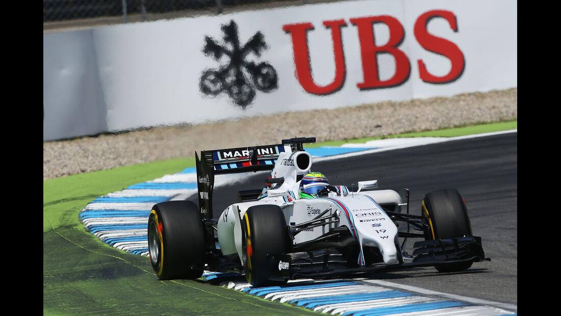 Felipe Massa - Williams - Formel 1 - GP Deutschland - Hockenheim - 19. Juli 2014