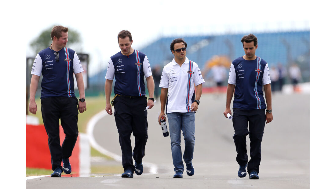 Felipe Massa - Williams - Formel 1 - GP England - Silverstone - 3. Juli 2014