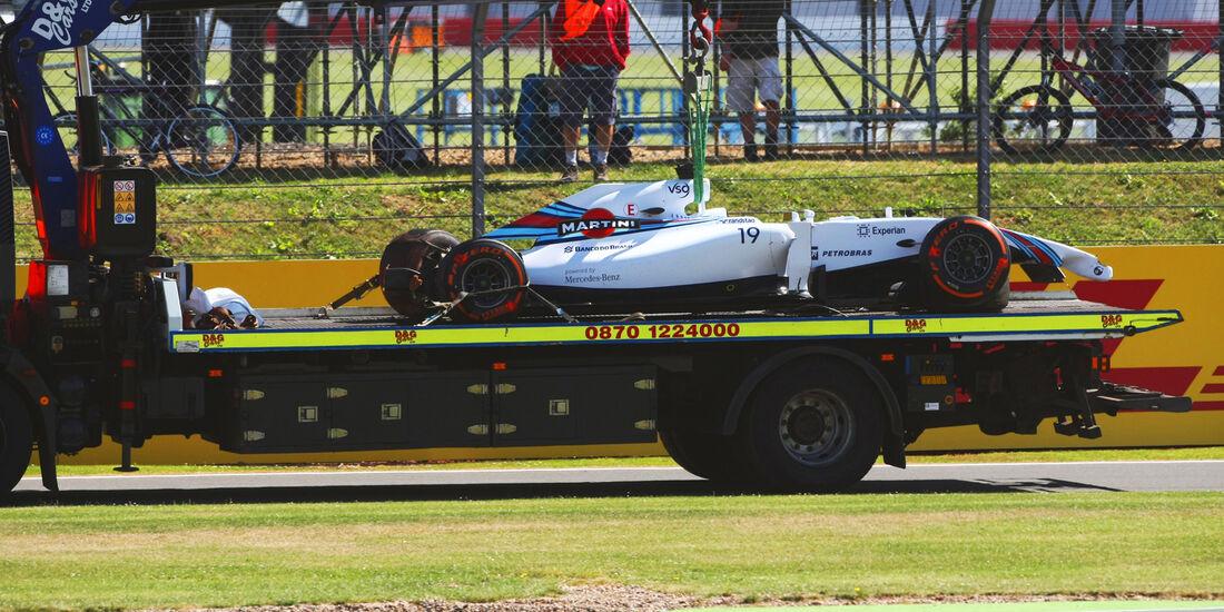 Felipe Massa - Williams - Formel 1 - GP England - Silverstone - 4. Juli 2014