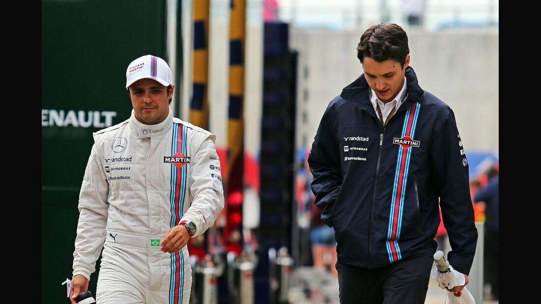 Felipe Massa - Williams - Formel 1 - GP England - Silverstone - 5. Juli 2014