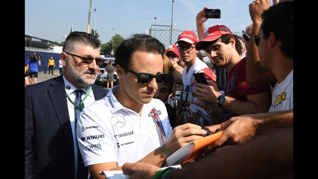 Felipe Massa - Williams - Formel 1 - GP Italien - Monza - 1. September 2016
