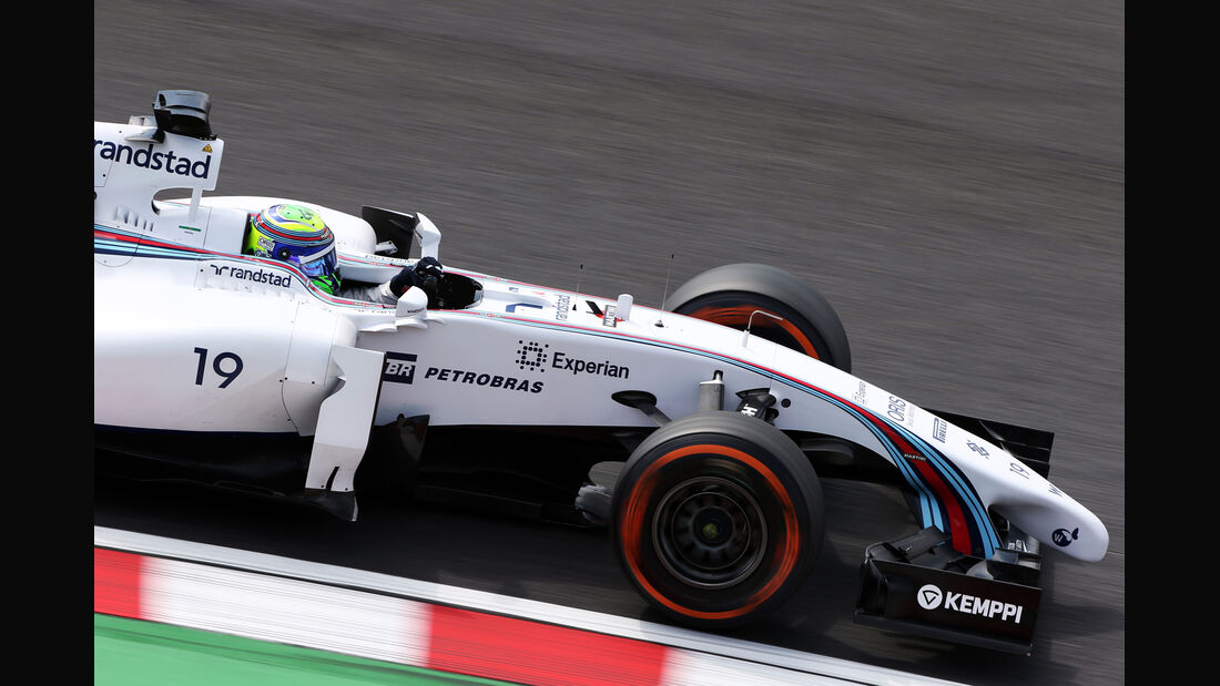 Felipe Massa - Williams - Formel 1 - GP Japan - 3. Oktober 2014