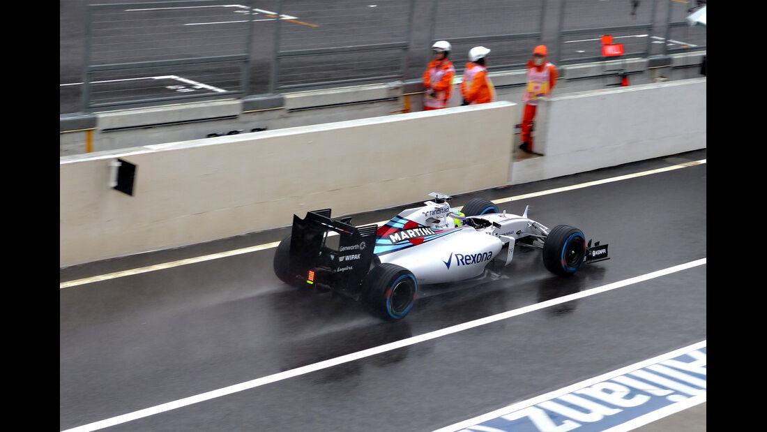 Felipe Massa - Williams - Formel 1 - GP Japan - Suzuka - 25. September 2015