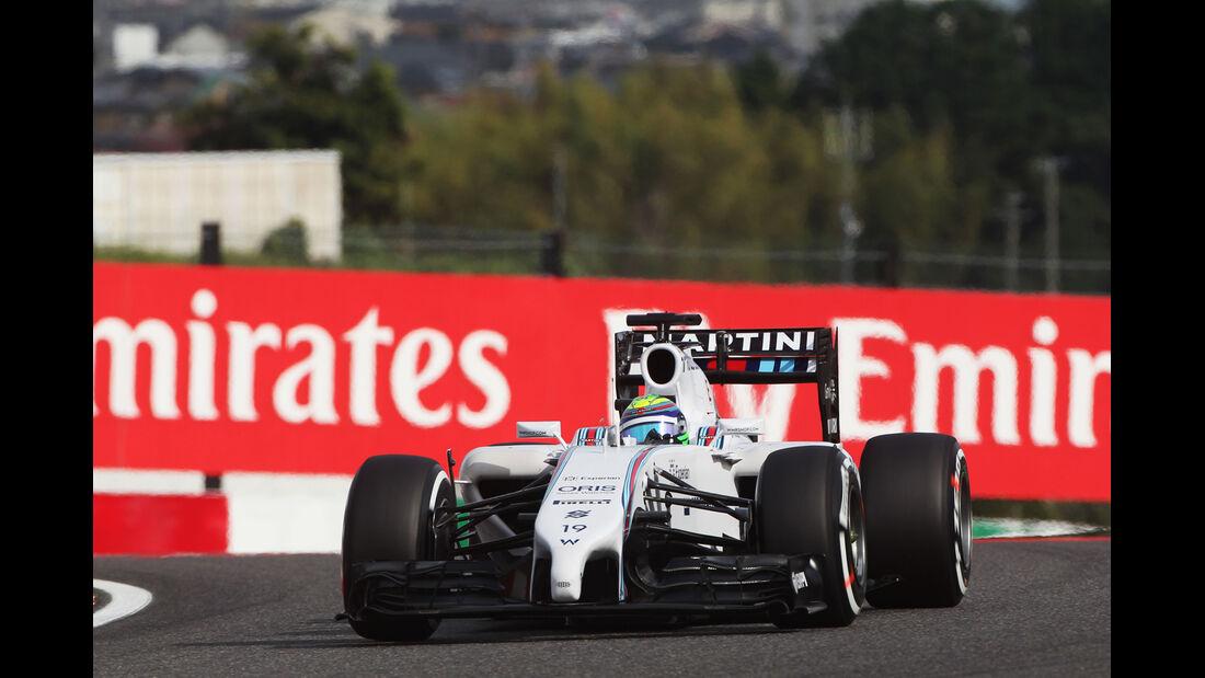 Felipe Massa - Williams - Formel 1 - GP Japan - Suzuka - 4. Oktober 2014