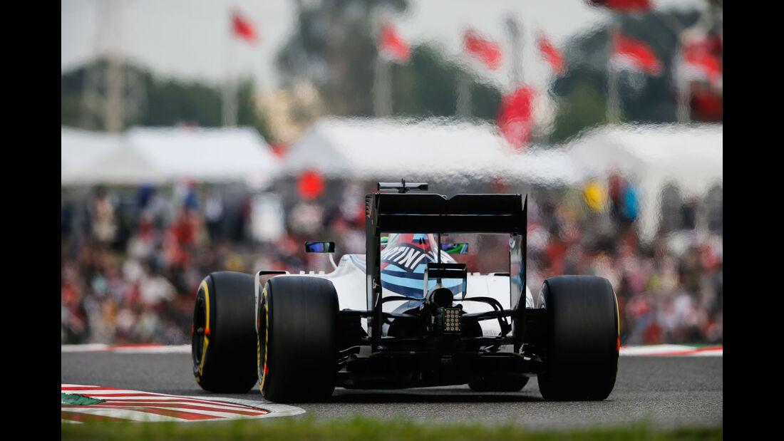 Felipe Massa - Williams - Formel 1 - GP Japan - Suzuka - Qualifying - Samstag - 8.10.2016