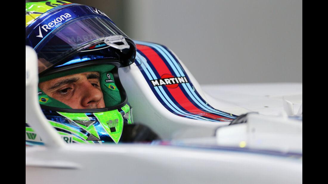 Felipe Massa - Williams -  Formel 1 - GP Malaysia - Freitag - 30.9.2016