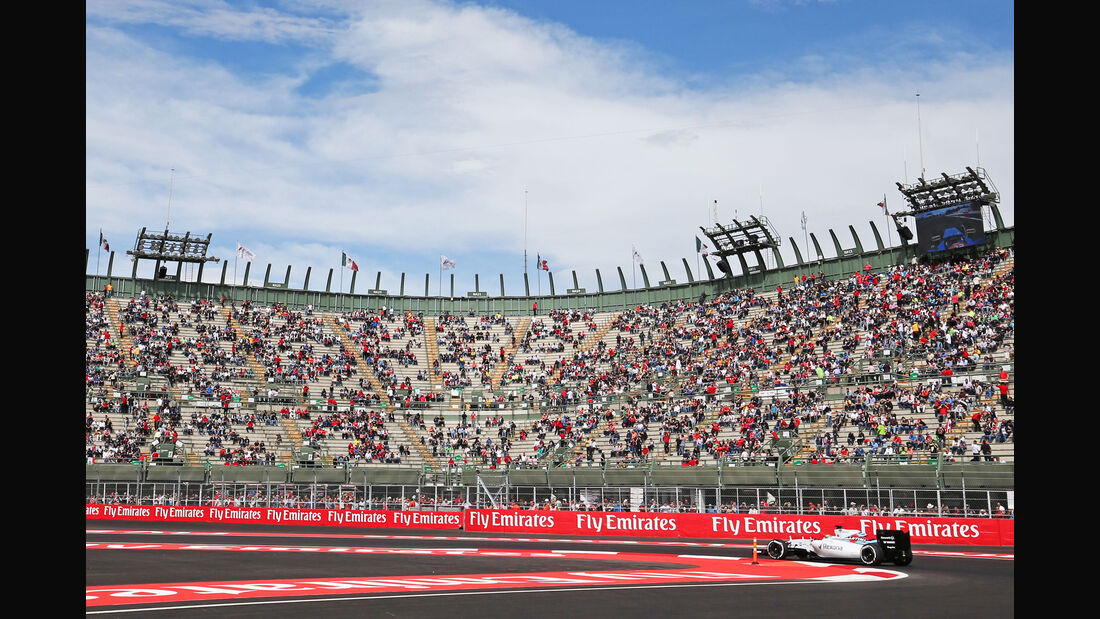 Felipe Massa - Williams - Formel 1 - GP Mexiko - 30. Oktober 2015