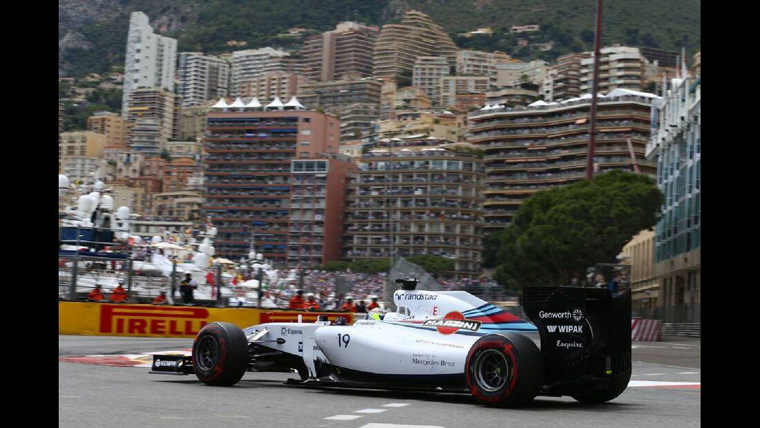 Felipe Massa - Williams  - Formel 1 - GP Monaco - 25. Mai 2014
