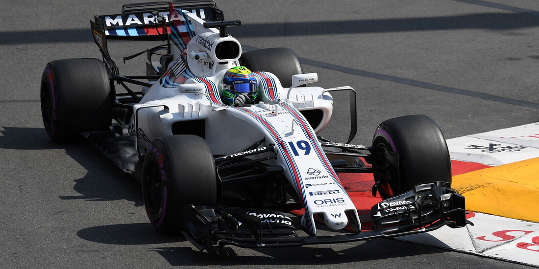 Felipe Massa - Williams - Formel 1 - GP Monaco - 25. Mai 2017