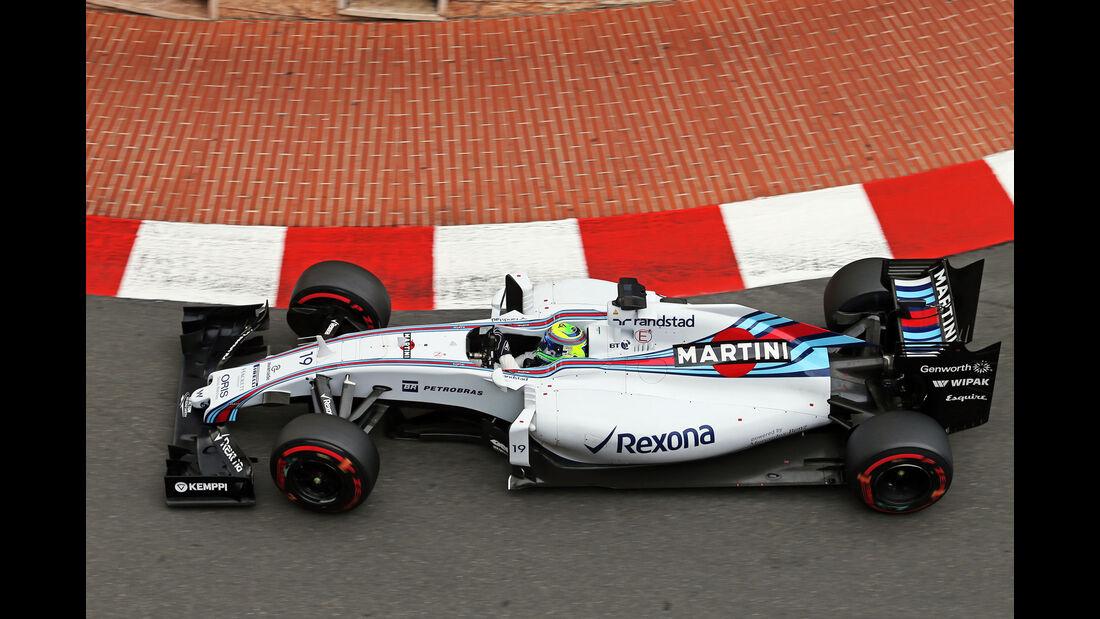 Felipe Massa - Williams - Formel 1 - GP Monaco - Samstag - 23. Mai 2015