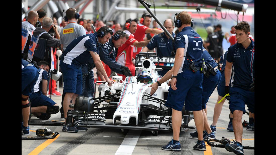 Felipe Massa - Williams - Formel 1 - GP Österreich - 1. Juli 2016