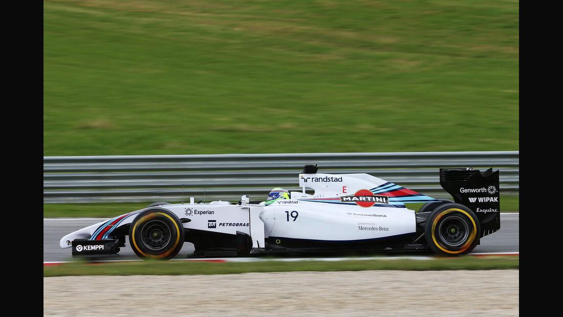 Felipe Massa - Williams - Formel 1 - GP Österreich - Spielberg - 20. Juni 2014