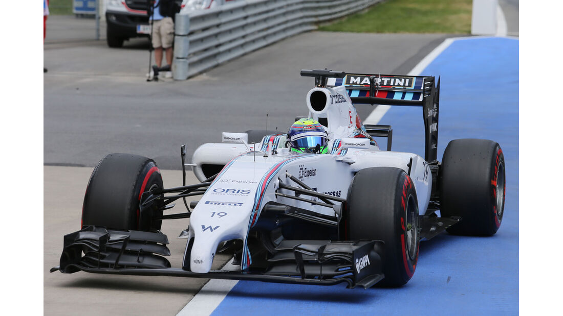 Felipe Massa - Williams - Formel 1 - GP Österreich - Spielberg - 21. Juni 2014
