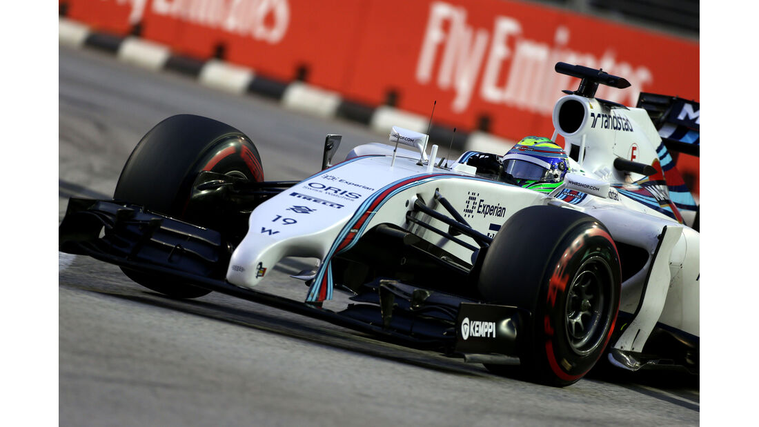 Felipe Massa - Williams - Formel 1 - GP Singapur - 20. September 2014
