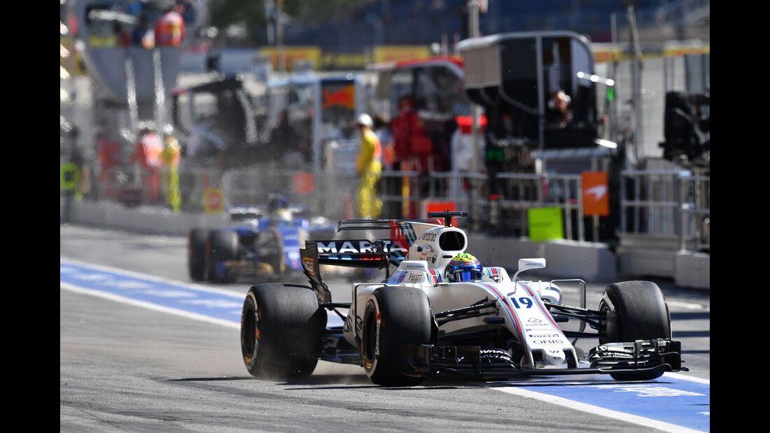 Felipe Massa - Williams - Formel 1 - GP Spanien - 12. Mai 2017