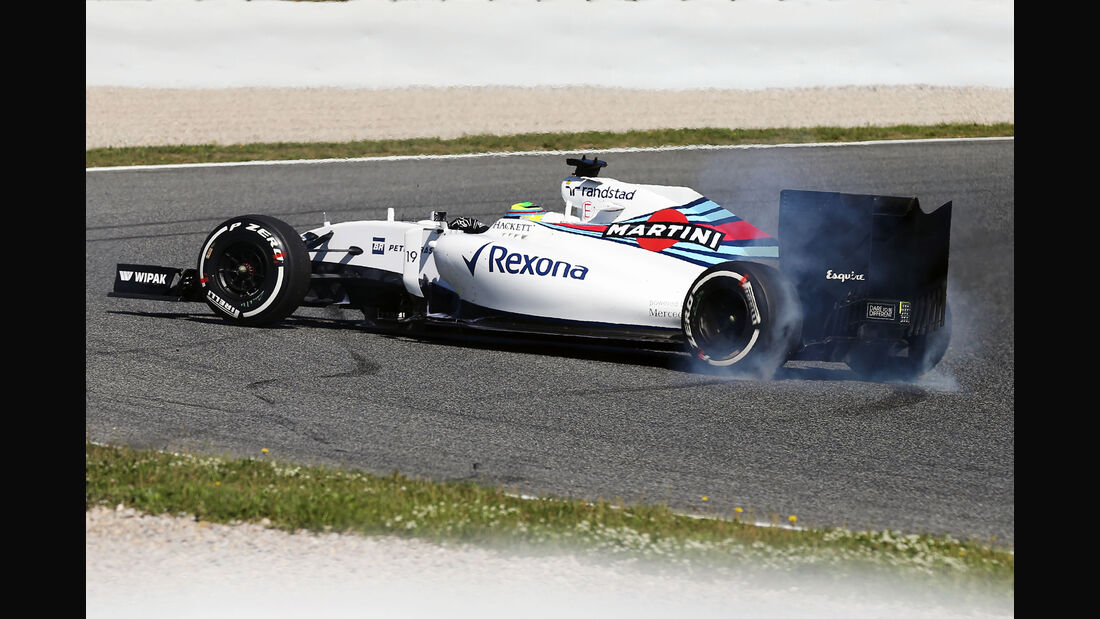Felipe Massa - Williams - Formel 1 - GP Spanien - 13. Mai 2016