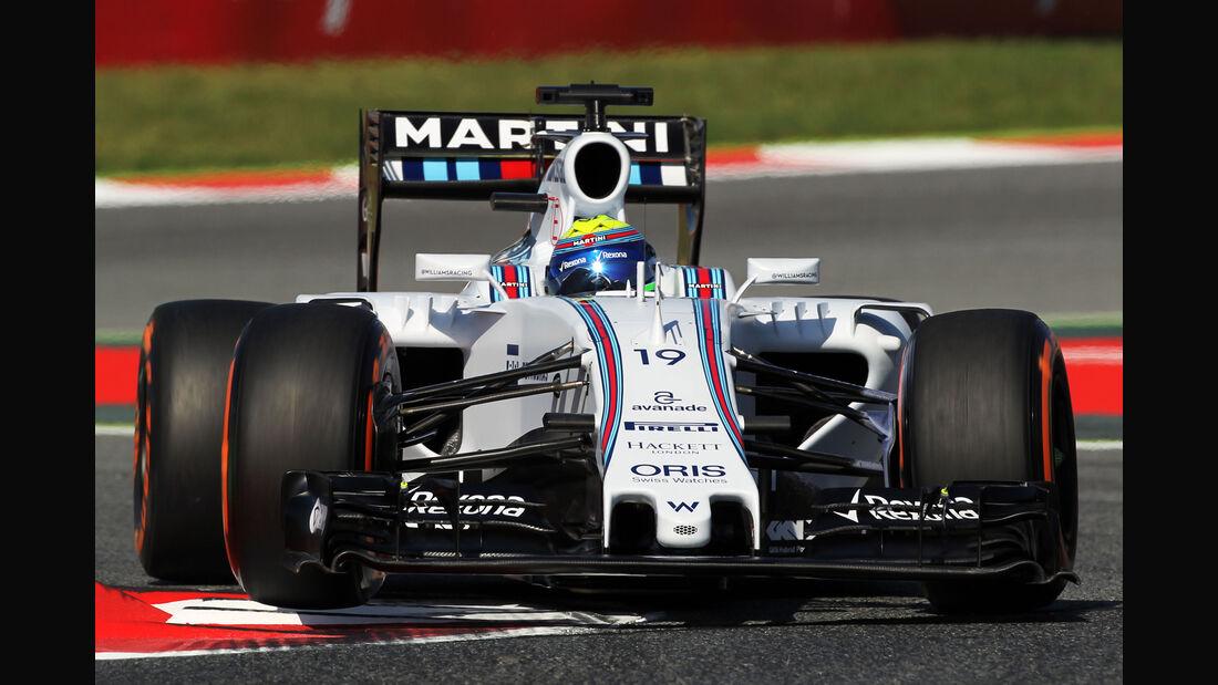 Felipe Massa - Williams - Formel 1 - GP Spanien - Barcelona - 8. Mai 2015