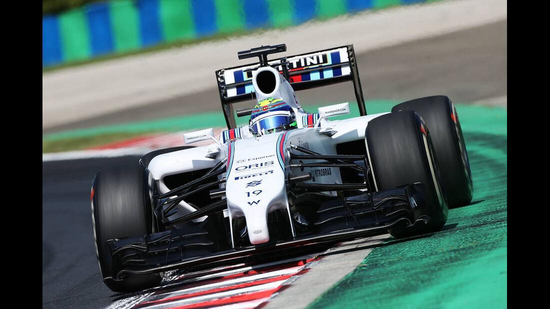 Felipe Massa - Williams - Formel 1 - GP Ungarn - 25. Juli 2014