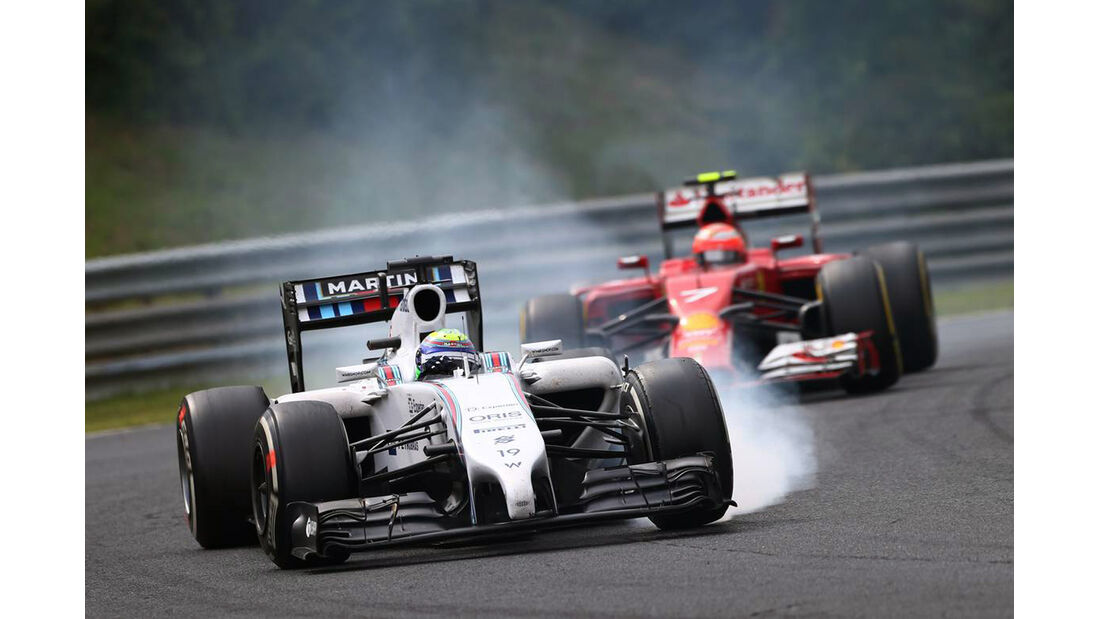 Felipe Massa - Williams - Formel 1 - GP Ungarn - 27. Juli 2014