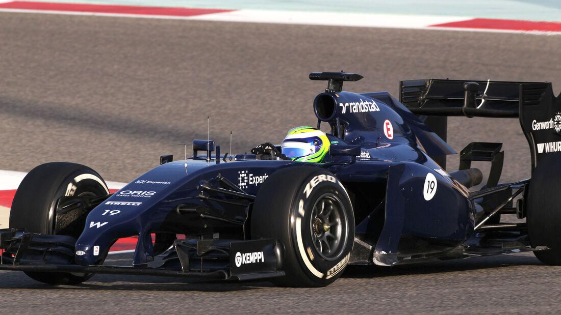 Felipe Massa  - Williams - Formel 1 - Test - Bahrain - 1. März 2014