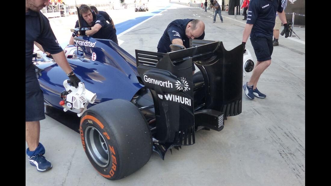 Felipe Massa - Williams - Formel 1 - Test - Bahrain - 20. Februar 2014