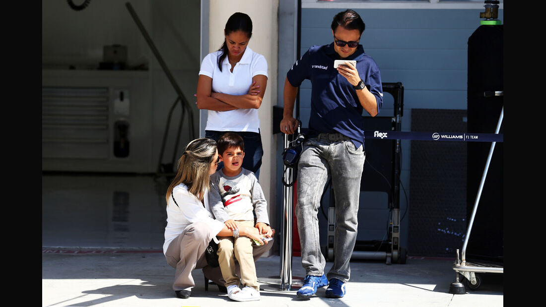 Felipe Massa - Williams - Formel 1 - Test - Bahrain - 22. Februar 2014