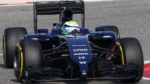 Felipe Massa - Williams - Formel 1 - Test - Bahrain - 28. Februar 2014