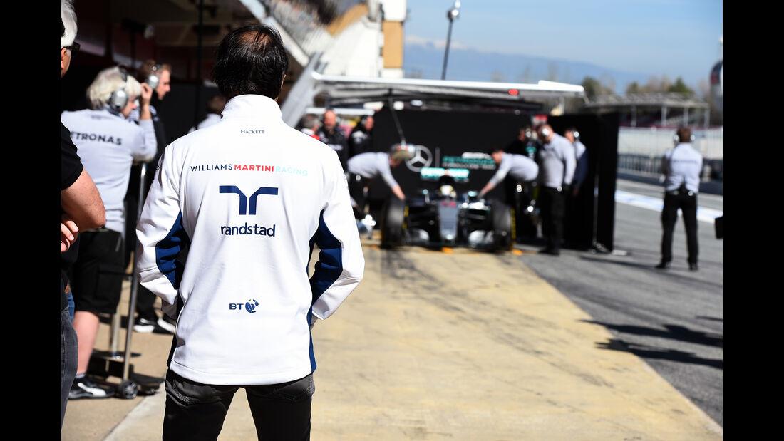 Felipe Massa - Williams - Formel 1-Test - Barcelona - 19. Februar 2015