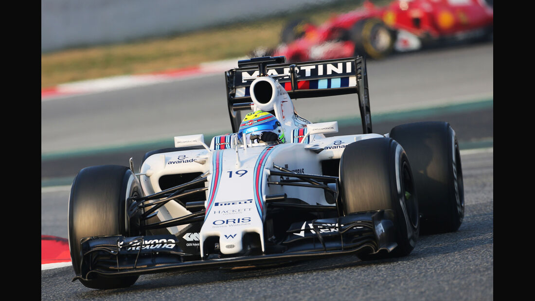 Felipe Massa - Williams - Formel 1-Test - Barcelona - 19. Februar 2015