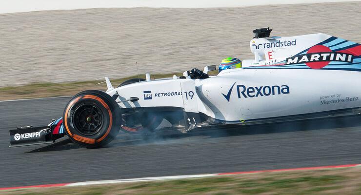 Felipe Massa - Williams - Formel 1-Test - Barcelona - 20. Februar 2015