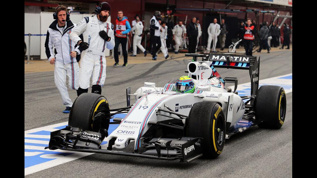 Felipe Massa - Williams - Formel 1-Test - Barcelona - 21. Februar 2015