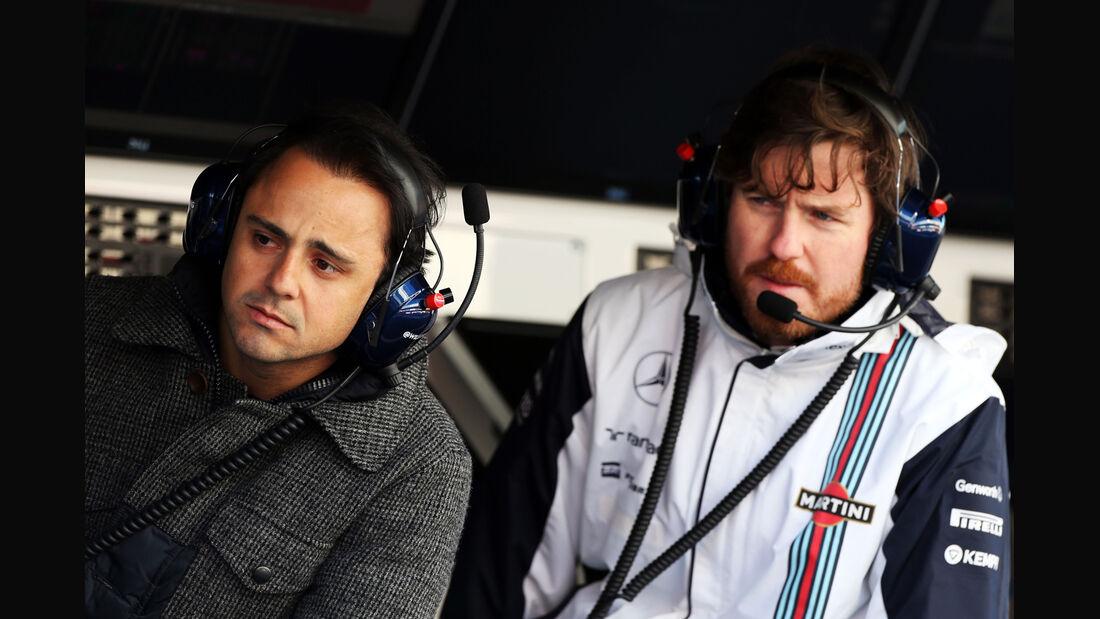 Felipe Massa - Williams - Formel 1-Test - Barcelona - 22. Februar 2015